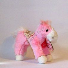 Bella Rose, Floppy Horse. Bella Rose pink